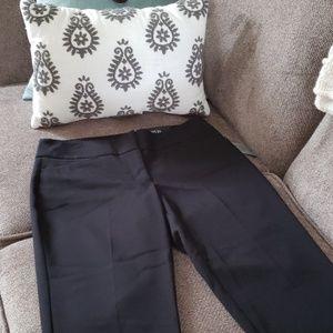 Apt. 9 women's black capri mid-rise dress pants